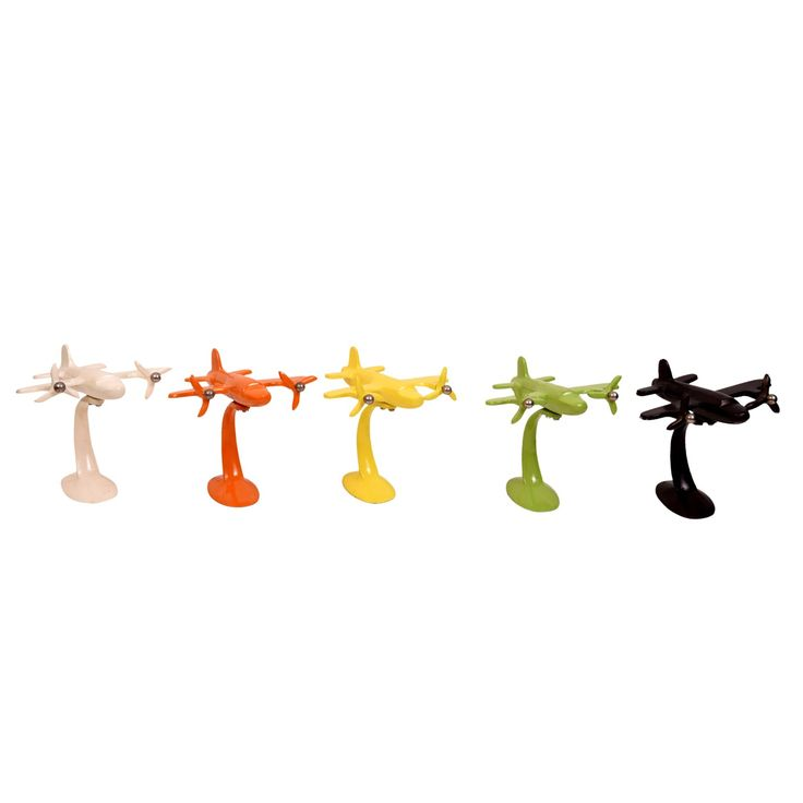 7 inch Aeroplanes in different colors