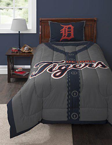 MLB Detroit Tigers Twin Comforter Set MLB http://www.amazon.com/dp/B00MJ8HLOO/ref=cm_sw_r_pi_dp_lugVub0NVXN6X