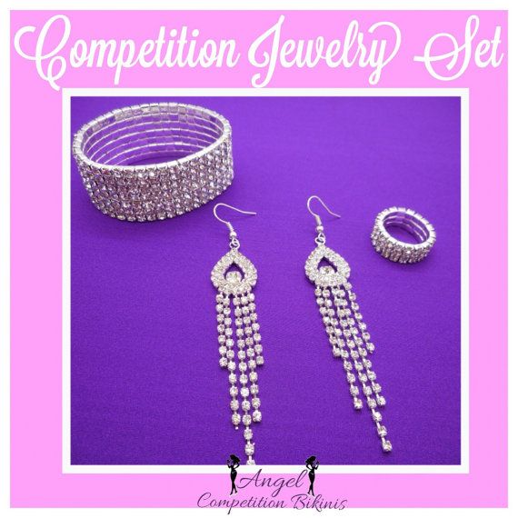 Competition Jewelry: Set for NPC IFBB or WBFF by NpcAngelBikinis