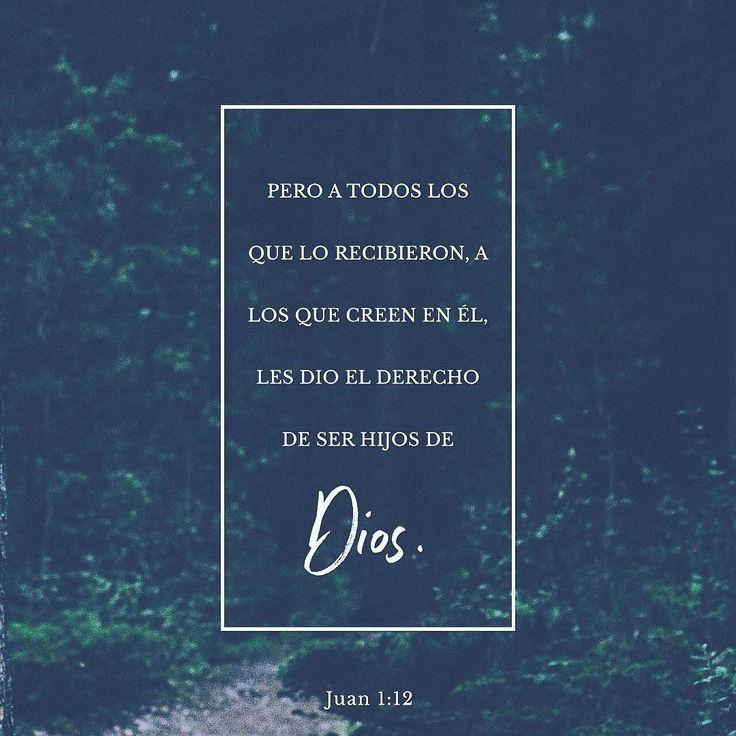 Pero aquellos que la aceptaron y creyeron en ella llegaron a ser hijos de Dios. San Juan 1:12 @youversion #buenosdias #islademargarita #venezuela