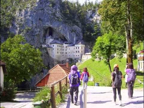 Grotte Postumia, Castello Predjama (Slovenia) - agosto 2014