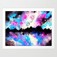 Almost perfect reflexions Art Print