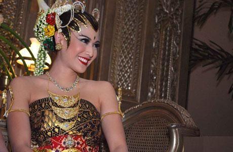 Traditional javanese wedding