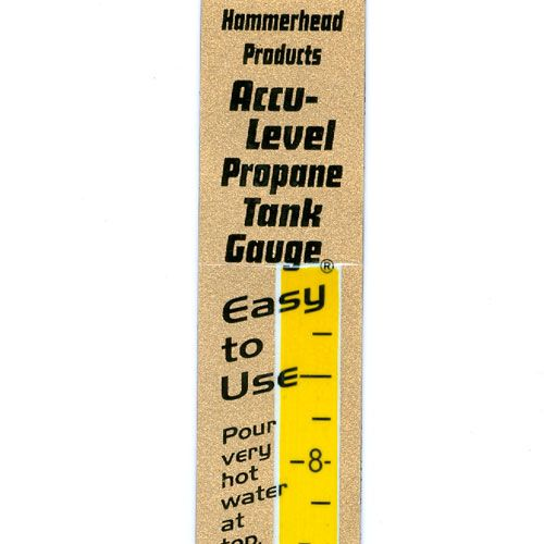 The Accu-Level Magnetic Propane Tank Gauge is perfect for measuring the amount of propane left in a standard 20 pound tank.