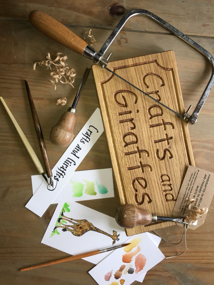 Crafts and giraffes - personalised gifts and home decor