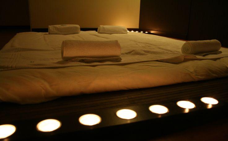 Partilhe momentos únicos a Dois no nosso tapete de massagens tatami.