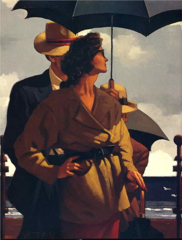 Right Time, Right Place Jack Vettriano