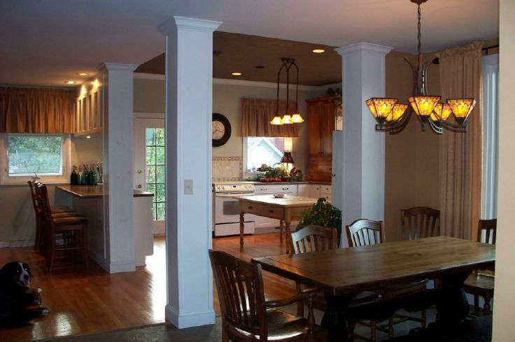 Best 25 Kitchen Columns Ideas On Pinterest Kitchen Island Ideas With Columns Farm Sink