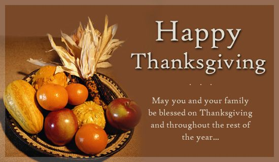 Happy Thanksgiving Greetings | Thanksgiving Ecards