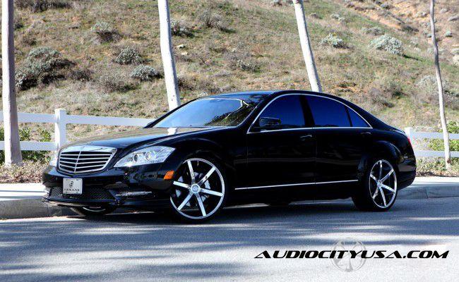 Mercedes benz s500 s550 s600 26 inch r6 six lexani wheels for Six wheel mercedes benz