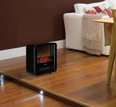 A Mini Cube electric heater by Dimplex will bring the immediate cosiness of a traditional woodfire without any of their hassles - no expensive installations required, no flues and zero clearance!