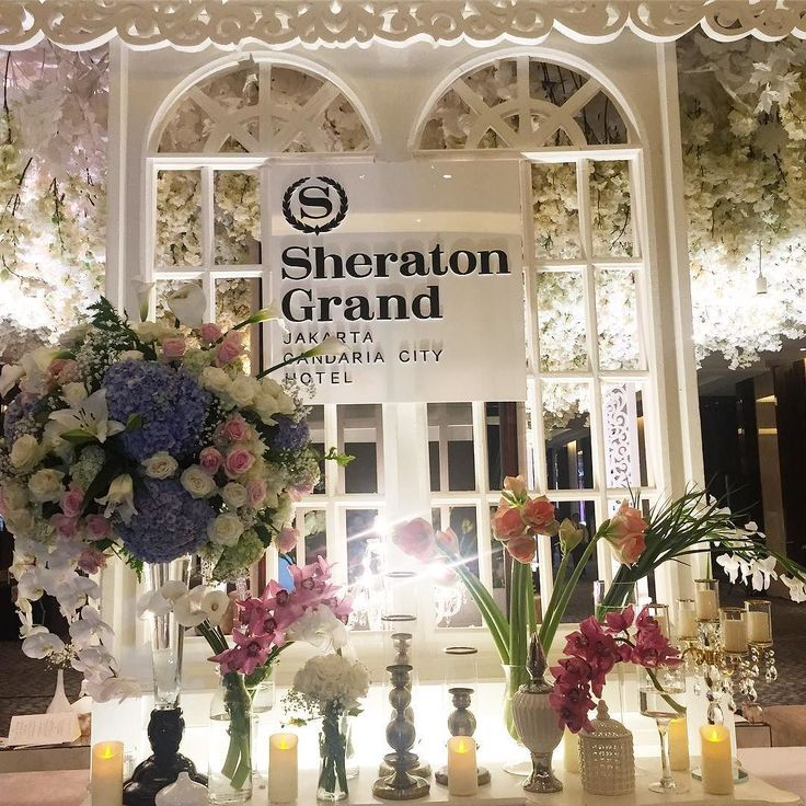 DAY 1!  #sheratongrandjakarta #sheratonjakarta #sheratongrand #jakartawedding #weddingjakarta #sheratongrandwedding #grandweddingjakarta #grandwedding #weddingdetails #weddingdecorations #weddingpreparation