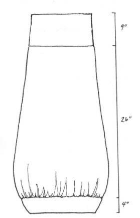 Organic Cotton Oval Skirt Printed : Blue Fish Clothing