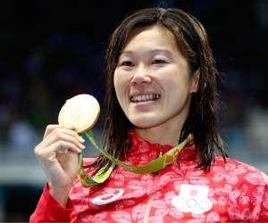 幾多の挫折を乗り越え、リオ五輪で金メダルを獲得した金藤理絵。(写真:Getty Images) - Asahi Shimbun Publications Inc. 提供