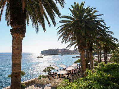 Luxury Elegant Private Terrace wedding in Croatia