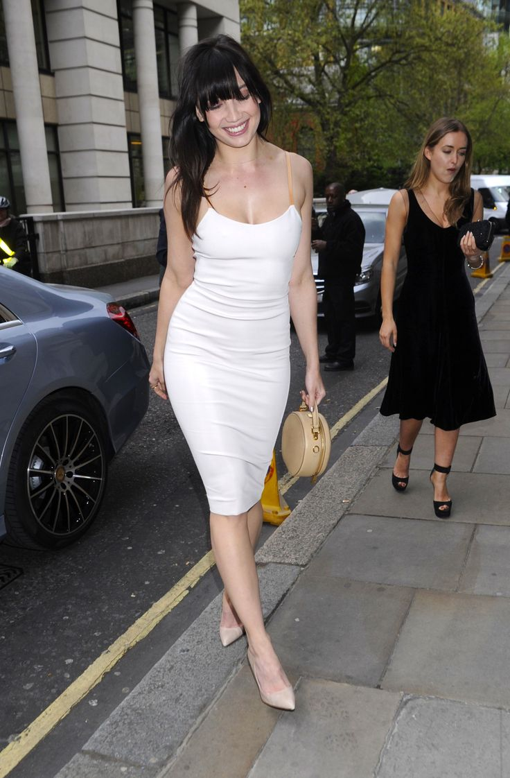 UPDATE: it's suddenly all about that little white dress.