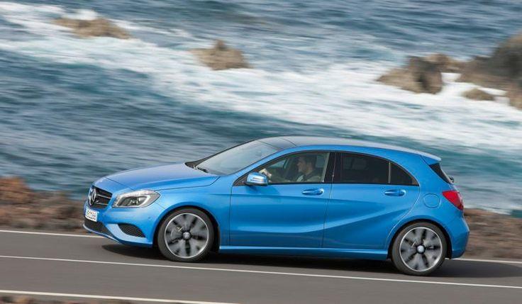 A 180 CDI BlueEFFICIENCY. Fuel consumption combined: 3,8 l/100km, CO2 emissions combined: 98 g/km. #MBCars