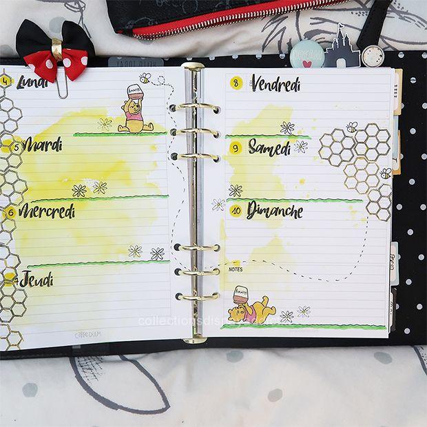 Epingle Sur Planner Bullet Journal Disney