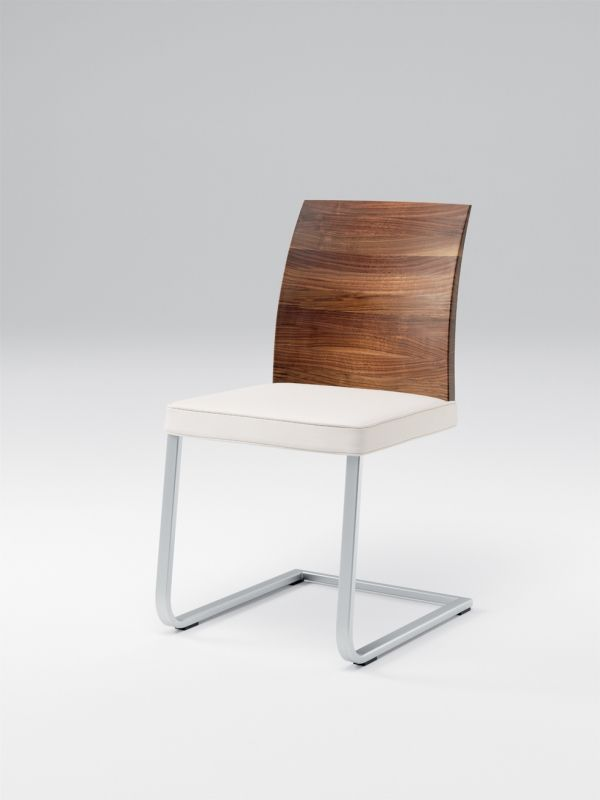Stretto Freischwinger Leder mit Holzlehne | Stühle | Sitzmöbel | WOHNEN |                                                                                                                                                                                 Mehr