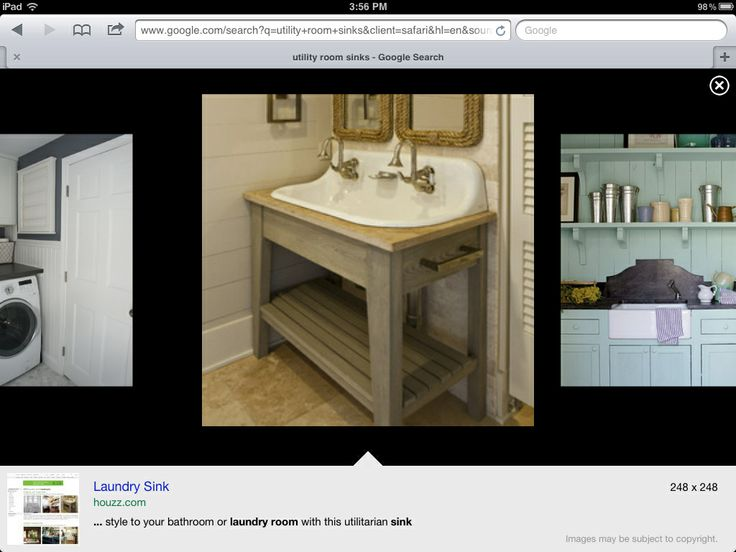 Double faucet and cool sink