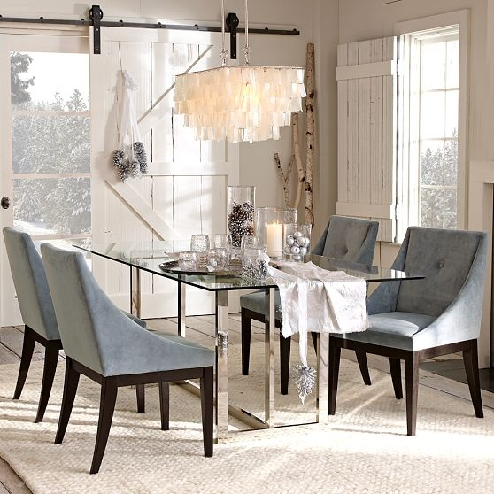 ASIAN INSPIRED LUNCHEON Upholstered Dining ChairsDining Room