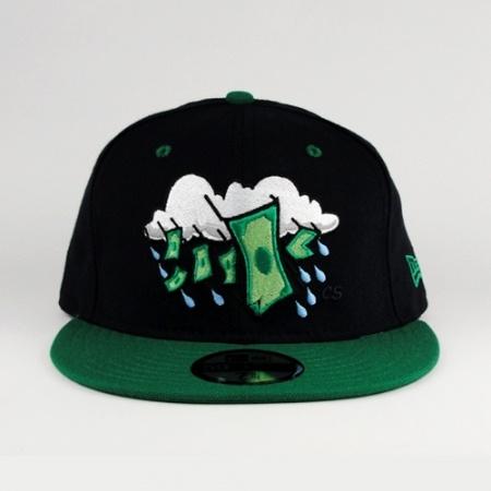 Make it rain money New Era fitted hat
