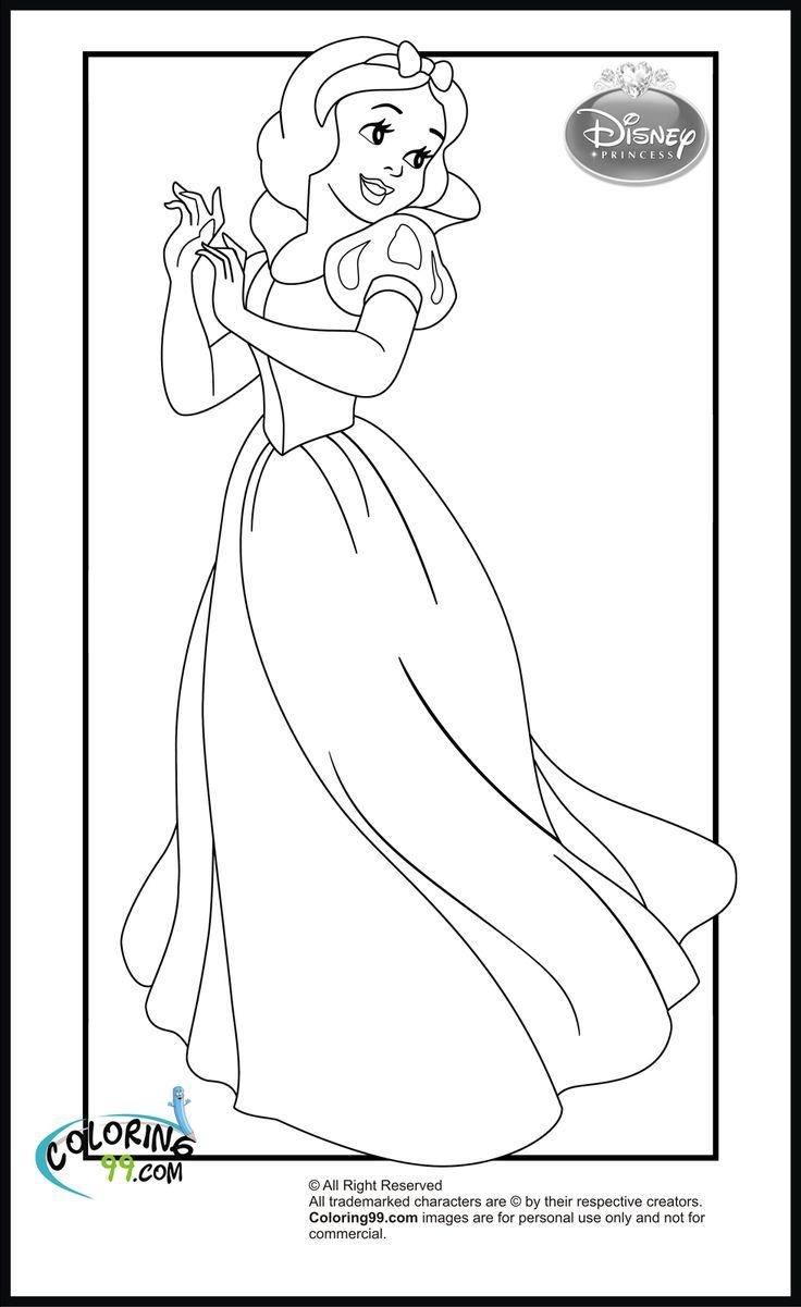 Lego disney princess coloring pages - Disney Princess Coloring Pages 03