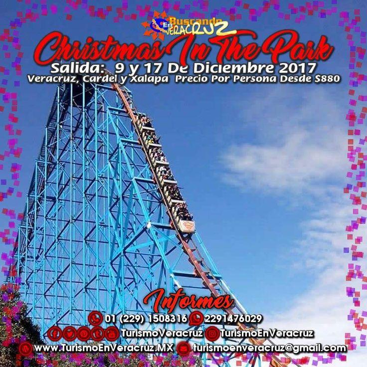 #Christmas In The Park De #SixFlags nos espera este 3, 9 y 17 de diciembre saliendo de #Veracruz #Cardel y #Xalapa ¡ Reserva Tu Lugar YA ! Más información en: Tels: 01 (229) 150 83 16 WhatsApp: 2291476029 Email: turismoenveracruz@gmail.com http://www.buscandoenveracruz.com/2017/09/sixflags-christmas-in-the-park-este-3-10-y-17-de-diciembre-2017-saliendo-de-veracruz-y-xalapa/