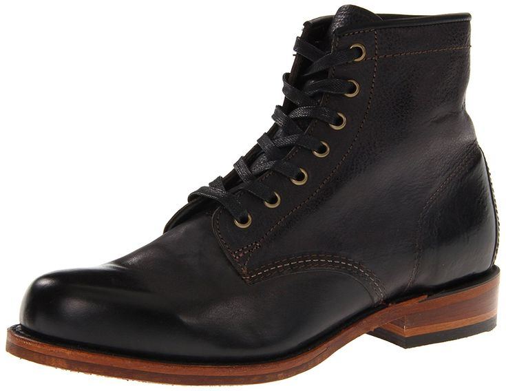 FRYE Men's Arkansas Mid Leather Boot >>> Additional details at the pin image, click it  : Men's boots