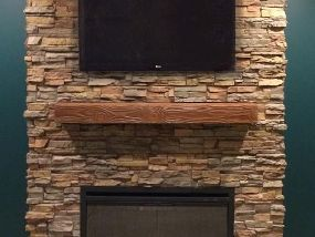 Fake Fireplace Mantel Shelves | Mantels Direct to You