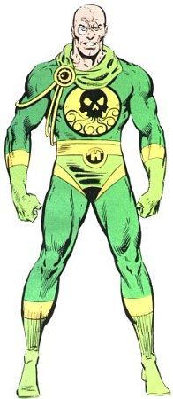 Baron Strucker - Former Nazi Officer and a leader of Hydra, enemy of Shield and the Avengers