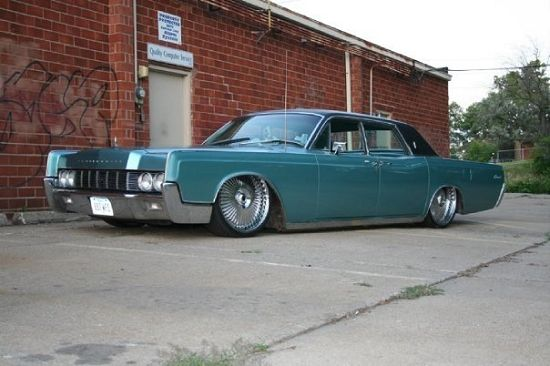 custom 1967 lincoln continental