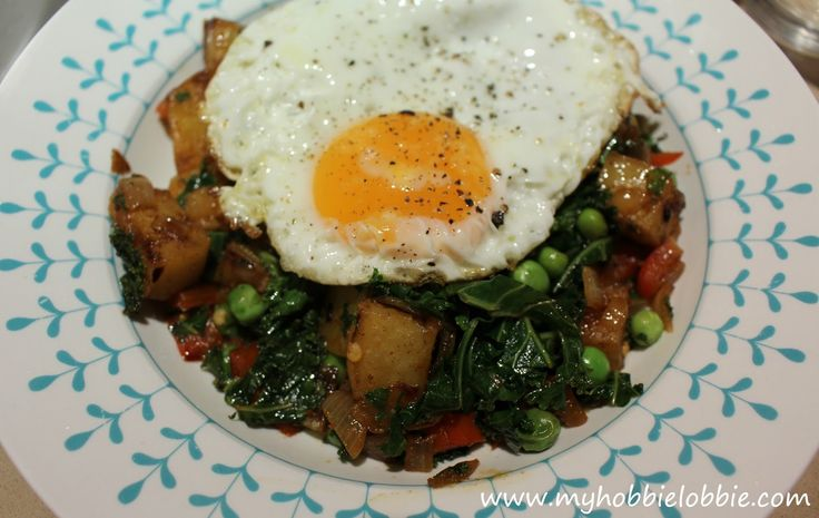 Breakfast Hash - start your day with this healthy, delicious hash or a great 'breakfast for dinner' option ... made from scratch in under 30 minutes.