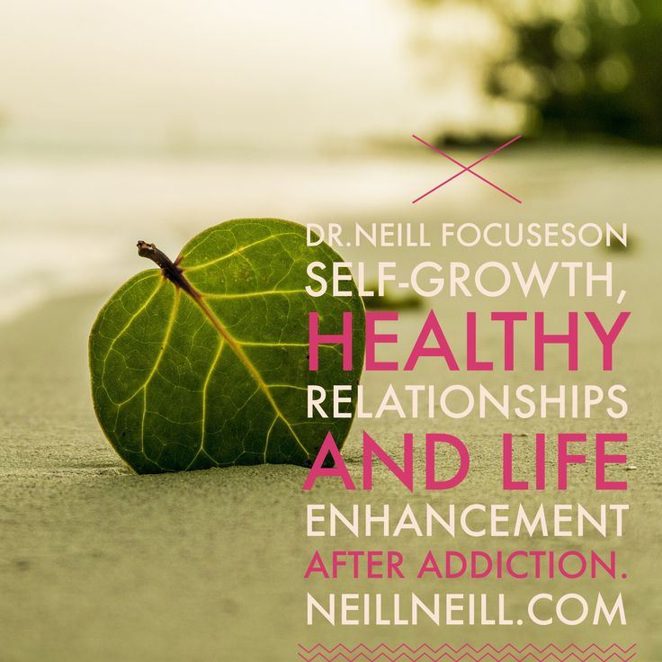 Dr Neill focuses on self-growth, healthy relationships and life enhancement after addictions.  NeillNeill.com