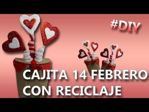 COMO HACER UNA CAJITA DE REGALO | Que regalar el 14 de febrero - YouTube