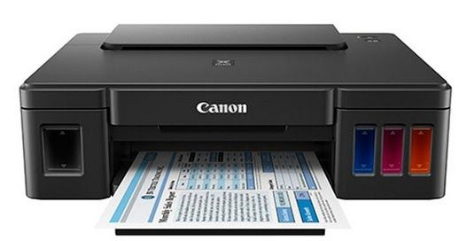 Canon PIXMA G1200 MegaTank Inkjet Printer comes with a refillable ink tank and ink enough to do the job of 30 accounting for ink cartridge set. That translated into razor sharp 6,000 black pages
