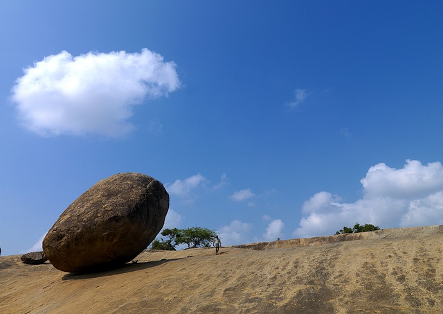 Mahabalipuram rock - India