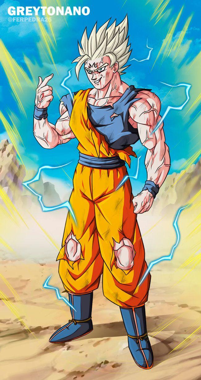 Majin Goku By Greytonano Anime Dragon Ball Super Dragon