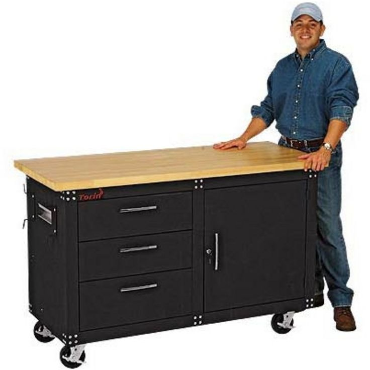 best 25 rolling workbench ideas only on pinterest woodworking shop miter saw table and tool bench - Rolling Workbench
