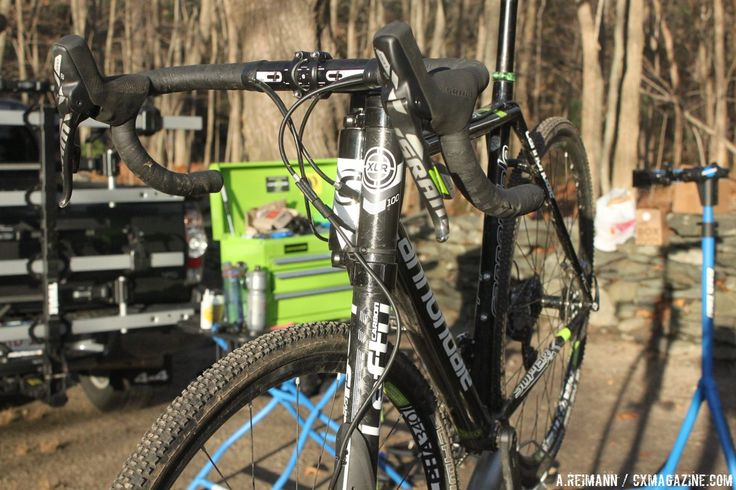 The Cannondale SuperX with a lefty fork