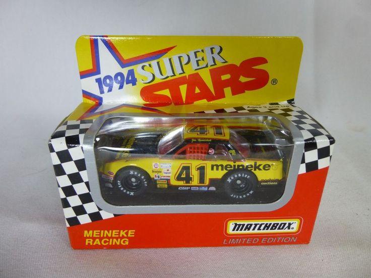Joe Nemechek #41 Meineke 1994 1/64 Matchbox Superstars Monte Carlo Stock Car #Matchbox #Chevrolet