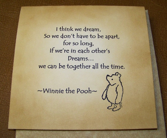 Winnie The Pooh  Classic Bear  Very Vintage by WritingsByBluebirds, $3.95