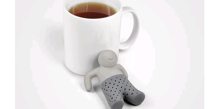 紅茶好きにはたまらない、見ているだけで楽しくなりそうなユニークなティー・インフューザー
