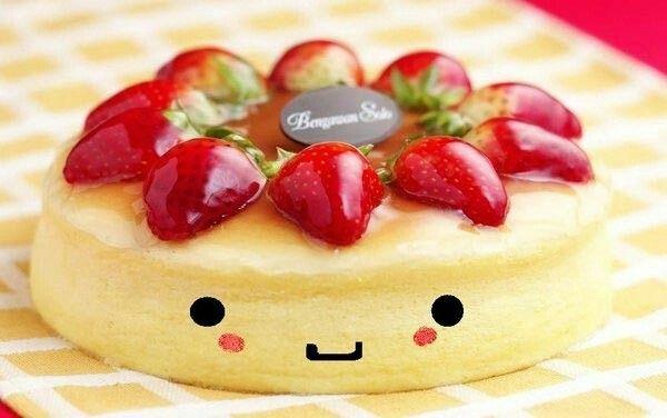 A cute cheese cake!!!