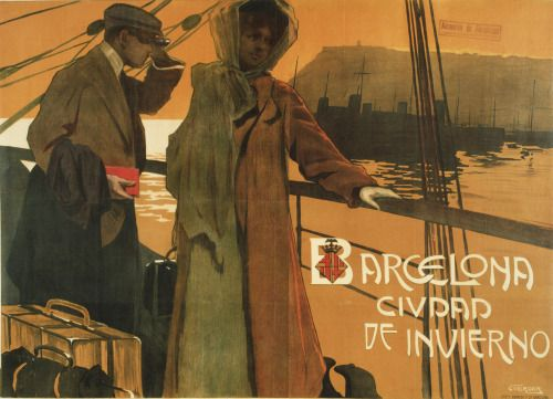 Verger FiorettiBarcelona'da Kış Tatili1909