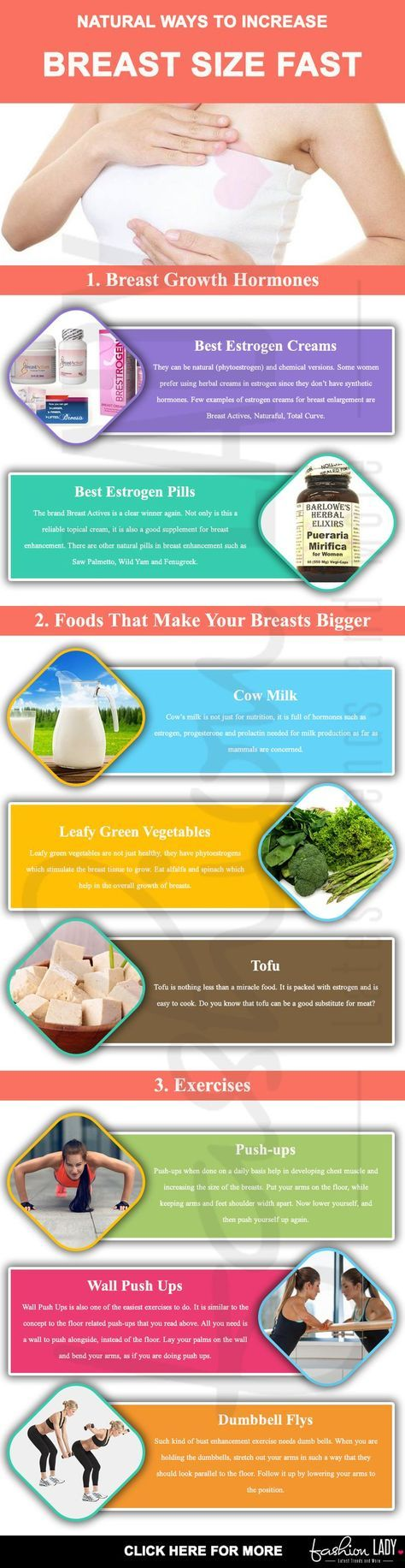 Natural Ways To Increase Breast Size Fast At Home - A -1325
