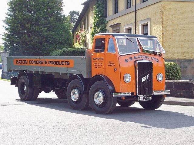 Whatever happened to ERF trucks?