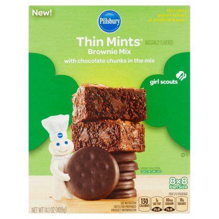 Pillsbury Brownie Mix Thin Mints, 14.1 OZ