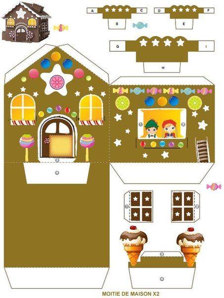 Ideas para el hogar casas para descargar imprimir - Cosas navidenas para hacer en casa faciles ...