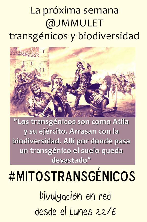 #MitosTransgenicos : Los transgénicos acaban con la biodiversidad | #MITOSTRANSGENICOS | Tomates con genes